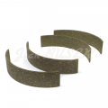 Set of 4 linings for parking brake shoes 356 C (64-65)