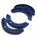 4 parking brake shoes 996/997 Carrera (03-08) + Boxster S (03-08) + Boxster/Cayman/Cayman S (05-08)