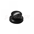 Tenax fastener cap (top end), Black, 911 (78-89) + 964 + 993