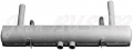 Steel exhaust muffler 80 mm., 356 A T-2 (57-59) + 356 B + 356 C / SC + 912