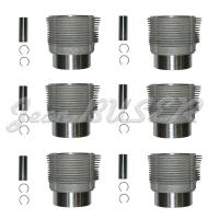 Complete cylinder 6 parts 911 2.4 S Mahle